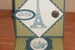 Artistic Etchings Easel Card