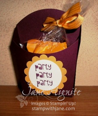 Cupcake Party - Mini Ghirardelli Fry