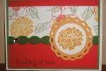 Fabulous Florets-pennant circle