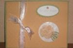 Flower Fest Glitter Window Card