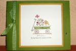 For the Birds-word window latch card