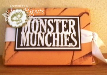 Halloween Hello-monster munchies slider