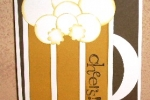 Happy Hour-beer mug punch art
