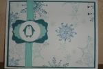 Jolly Bingo Bits-penguin snowflake