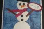 punchcard-snowman