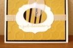 Honeybee Punch Card
