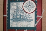 The Open Sea-scored triangle card