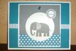 Zoo Babies-Faux Shadowbox Card