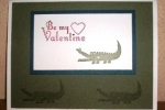 Zoo Babies Valentine\'s Day Card